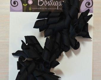 Korker Bow - Set of 2, Black