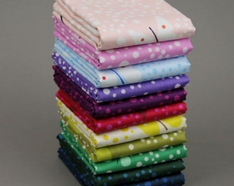 Butterflies by Lizzy House for Andover Fabrics - Complete Fat Quarter Bundle