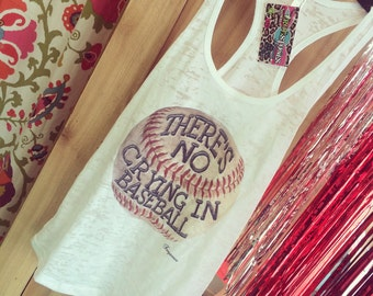 There's no crying in baseball tank