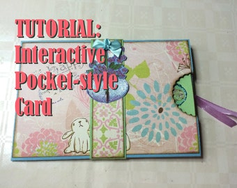 Tutorial #6: Interactive Pocketstyle Card 'Spring Sentiments'