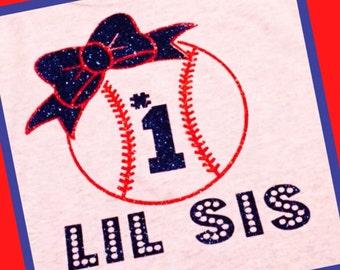 Lil Sis -Baseball