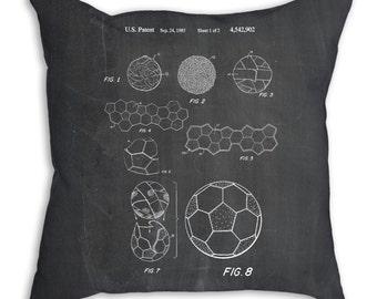 Soccer Ball 1985 Pillow, Soccer Gifts, Soccer Room Decor, Soccer Pillowcase, PP0054