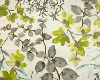 Braemore Gazebo Cloud Multi Colored Floral Home Decor Fabric By the Yard