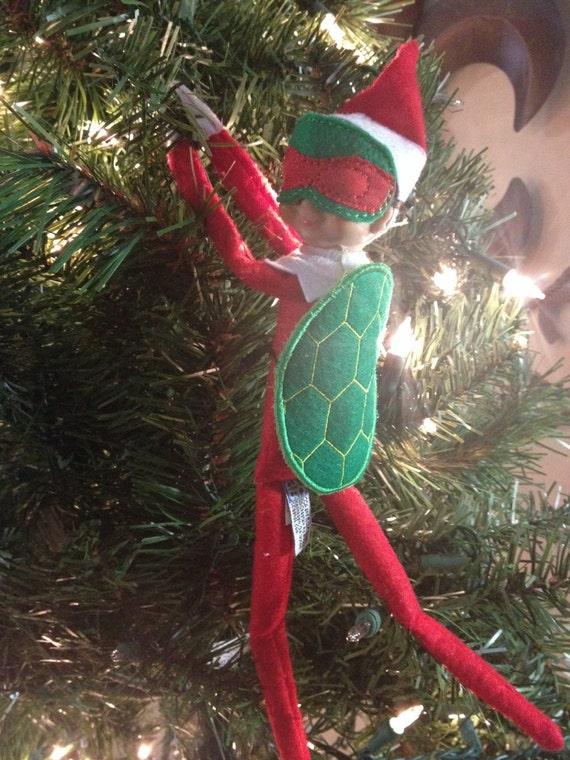 Items Similar To Turtle Shell Ninja Elf Shelf Doll Costume