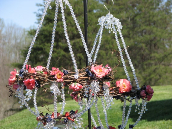 Items similar to outdoor chandelier rustic elegance for Rustic outdoor chandelier