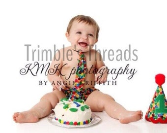 Hungry Caterpillar Birthday/ Smash Cake Set