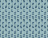 Half Yard Fly Aweigh - Lobsters in Blue - Nautical Cotton Quilt Fabric - C3874-BLUE - by Samantha Walker for Riley Blake Designs (W2525)