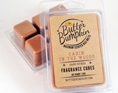 Cabin in the Woods Scented Wax Melts - Balsam & Cedarwood Maximum Fragrance Wax Cubes - Strong Cedar and Wood Outdoor Aroma Candle Melts