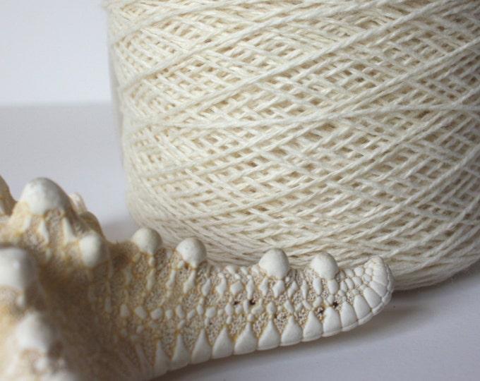 Coastal Col: 04 Ecru Lambswool-Cotton Blend
