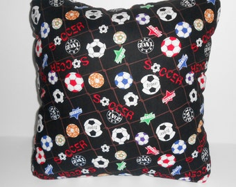 Soccer Pillow/Soccer Throw pillow/soccer pillows/Sports pillows/kid's pillows/ throw pillows/toss pillows/decorative pillows/