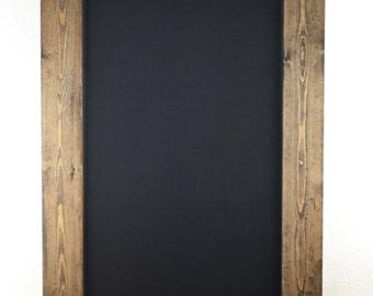 Rustic Chalkboard Frame 36x24,Blackboard, Rustic Home Decor,Chalkboard Frame, Gift for Her, Kitchen Chalkboard, Menu Sign