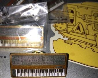 RARE Sequential Circuits Prophet-5 Analog Synthesizer Gold Pin Vintage Keyboard Moog ARP Roland Korg Oberheim Retro Swag Keyboard synth lofi