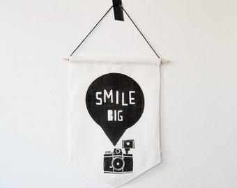 Smile Big Banner