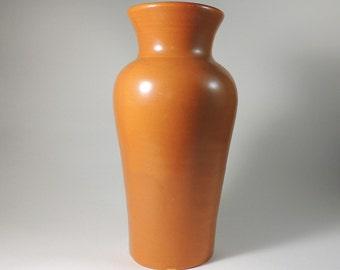 Cherokee Pottery Tall Vase Vintage 1930's Louisville Pottery Co. Kentucky Hand Thrown