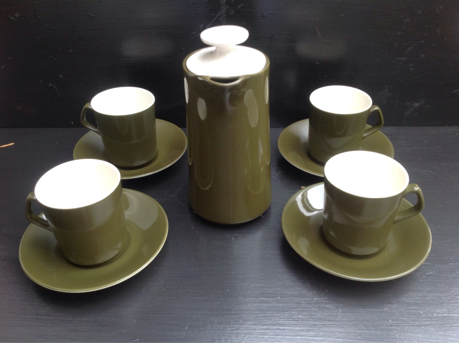 Beswick Coffee Set