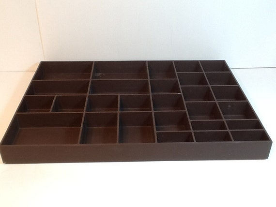 bead traytray organizerstorage traybrown by veroniquerboutique