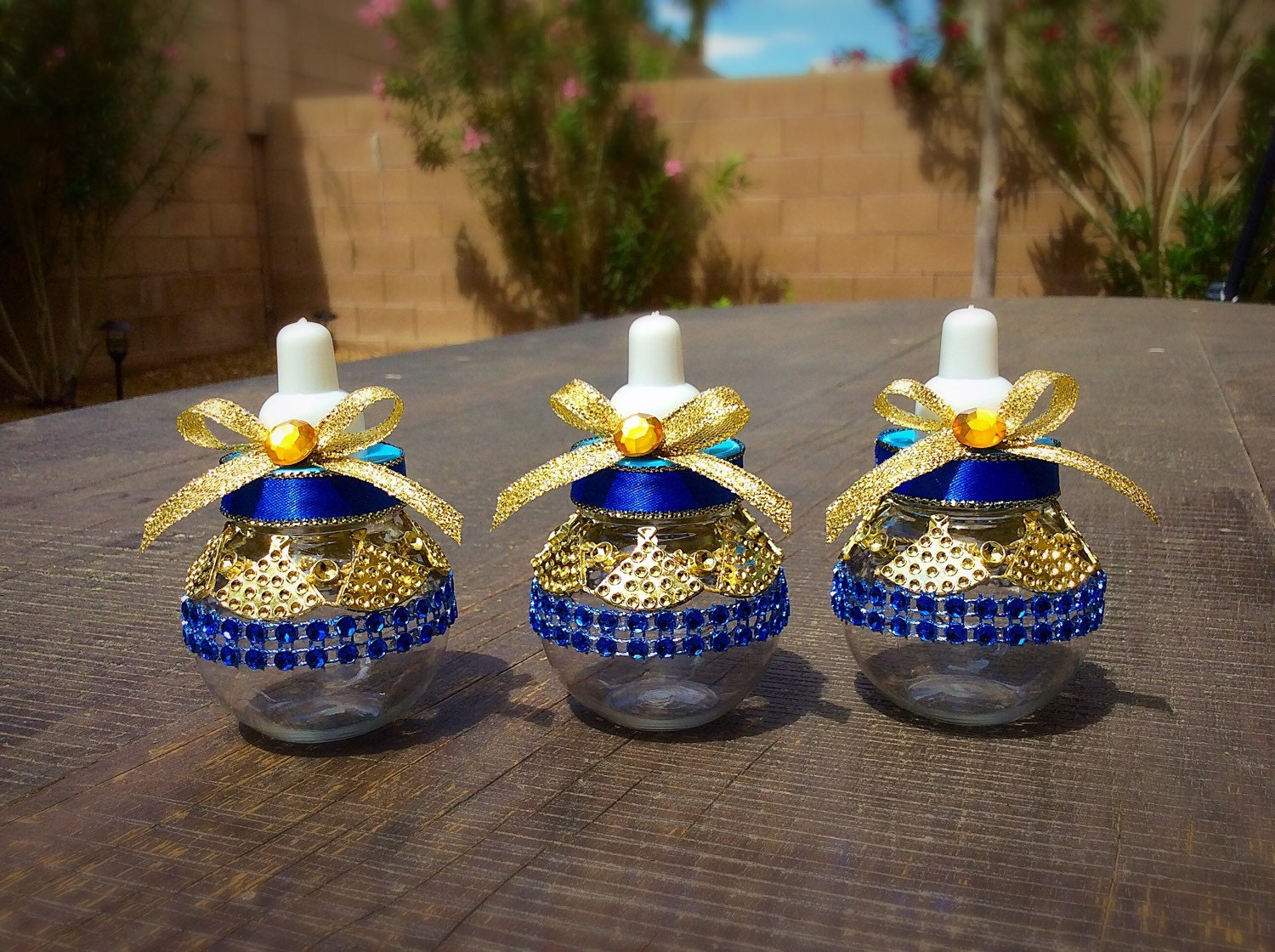 12 royal blue baby shower favors little prince baby shower