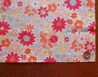 """10"""" x 10""""  FLORAL Japanese fabric Patchwork Charm Squares"""