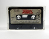 Star Wars Audio Book Cassette, 1983 Book On Tape, Droid World