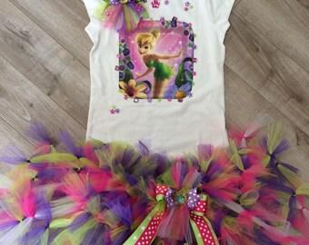 Tinkerbell fairy Tutu Set in your size Disney
