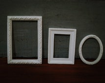 OOAK Dollhouse 1:6 Set 3  Miniature PICTURE FRAME for Doll Houses miniature.