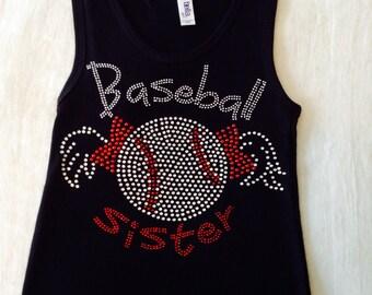 Baseball Sister Tank