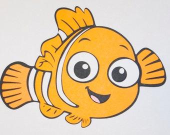 Nemo from Front (ocellaris clownfish) Die Cut - Finding Nemo - Best of Pixar