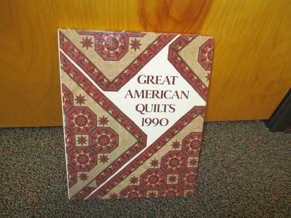 Great American Quilts 1987 - 34 American-made treasures with patterns, HB
