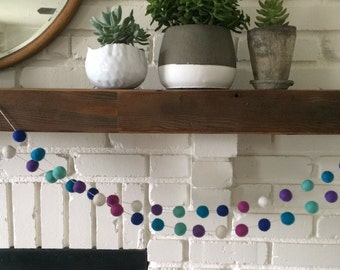 Frozen Felt Ball Garland