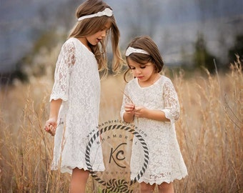 lace flower girl dress flower girl dress girls lace dress lace dress toddler lace dress boho flower girl dress flower girl dress lace