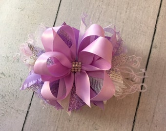 Lavender Fields Bow
