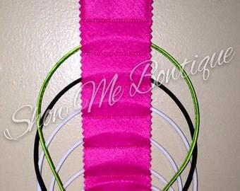 In The Hoop Headband Hanger design Instant Download