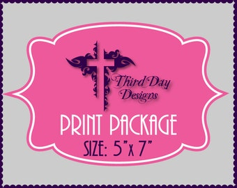 Add-On Print Package - 5x7 Invitations