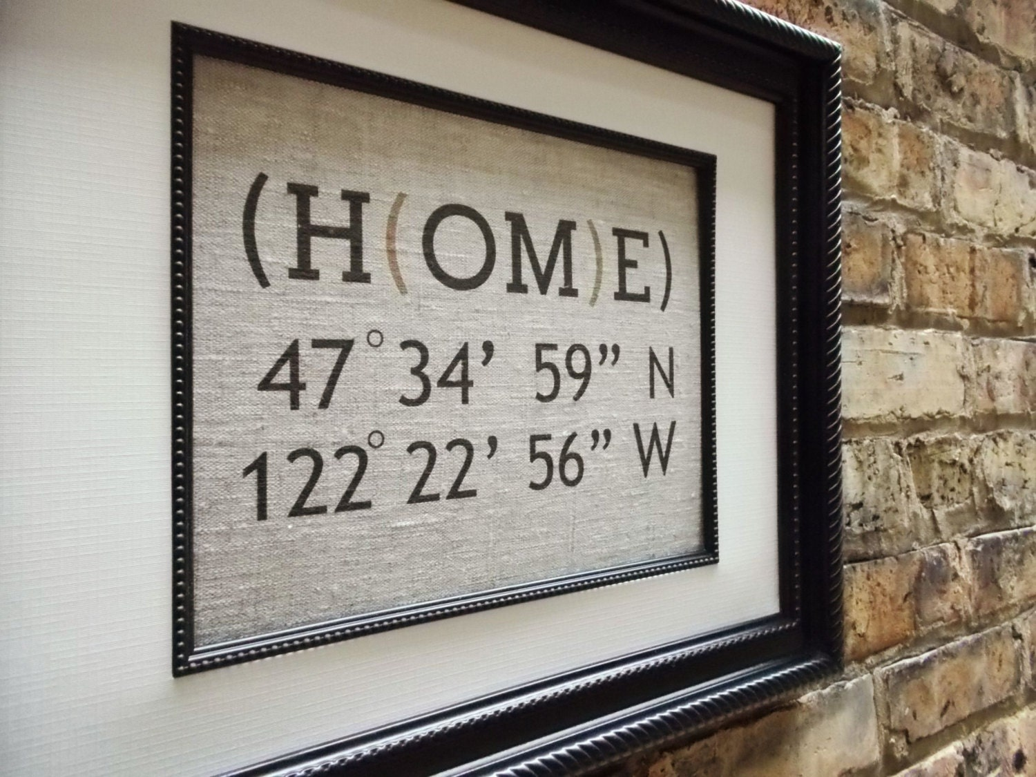 Personalized Family Housewarming Gift By Lemonmilkdesigns