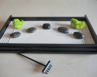 Beautiful L01   Large Desk Or Table Top Zen Garden   DIY Kit