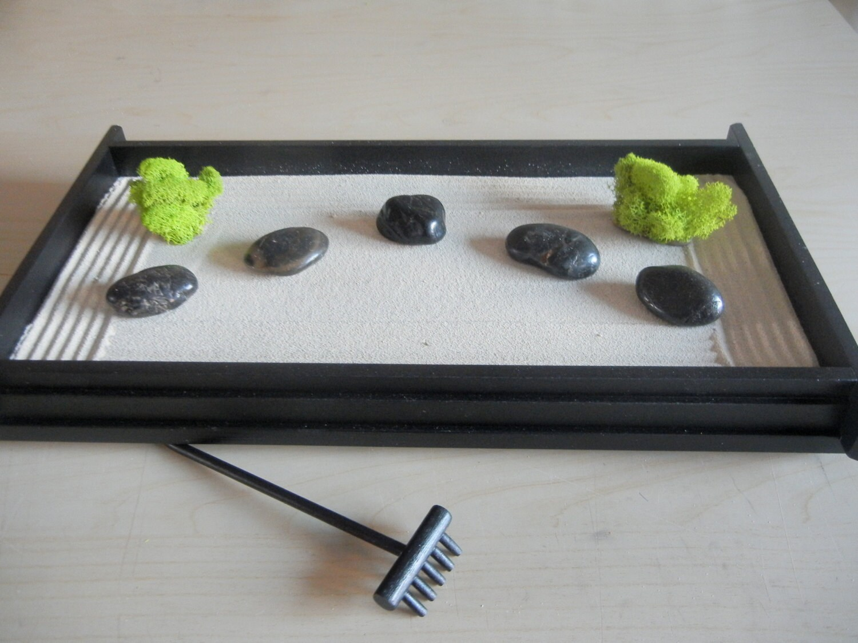L01 Large Desk Or Table Top Zen Garden Diy Kit