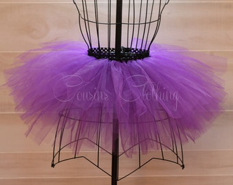 Running Tutu - Race Tutu - Adult Tutu - Grape Tutu -Halloween tutu -  Marathon Tutu - 5K Tutu - Purple Tutu - Fun Run Tutu- Adult Costume