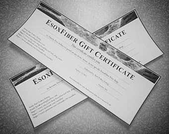 Gift Voucher- Gift Certificate-Printable-instant download