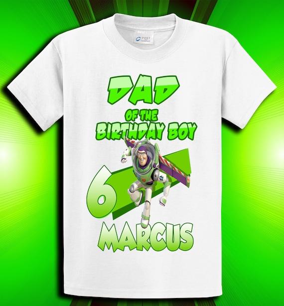 Buzz Lightyear Toy Story Mom / Dad of the Birthday Boy/Girl Shirt - Woody, Jessie