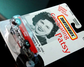 "Patsy Cline Matchbox 1957 Ford Thunderbird ""Limited Edition"""