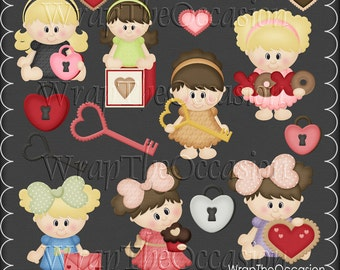 Little Sweethearts Exclusive Clipart