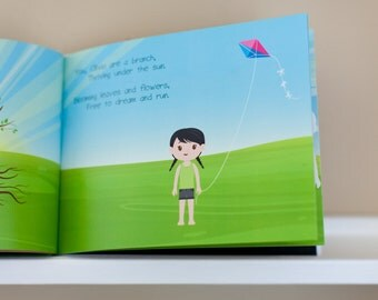 Customized Book - Your Family Is Like A Tree - A Sweet Story About Your Child's Family