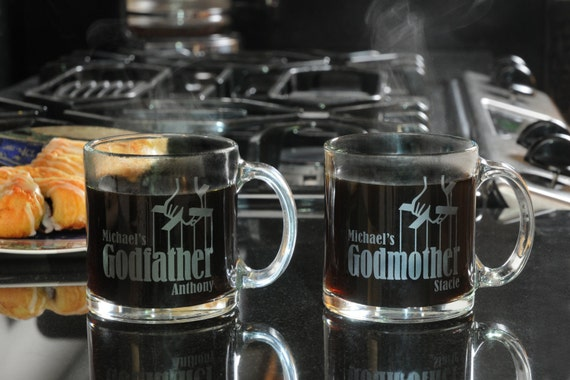 Clear glass coffee mugs unique gift for by for Cool glass coffee mugs