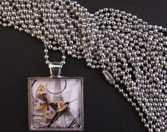 """25 Ball Chains - 24"""" - Snap Clasp - Neckware"""