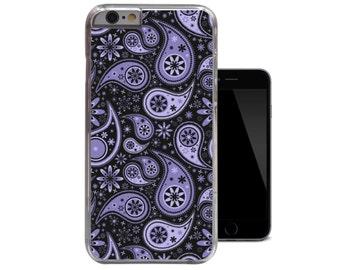 Purple Paisley Floral iPhone 6 Case iPhone 5c case iPhone 5 5s case iPhone 4 4s case (A184)