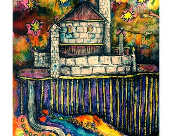 An Original Watercolour Painting by Kelli Gedvil 2014