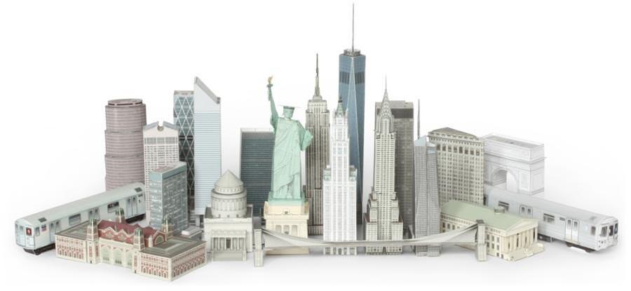 Construisez votre propre new york carte postale par for Construisez votre propre plan