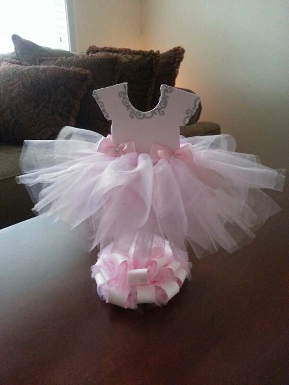 Double Sided Light Pink Tutu Dress By Thecarriageshoppe On
