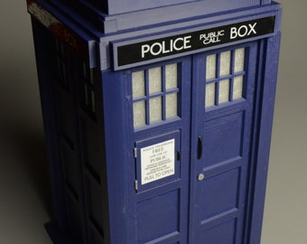 "TARDIS 11"" Unlit 3D Printed Kit"