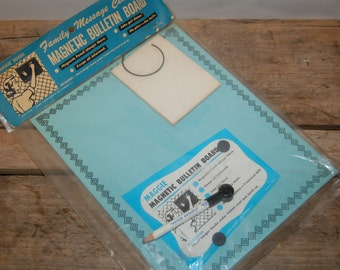 Vintage Maggie Board, Magnetic Bulletin Board, Vintage Office, New in Package, Organize